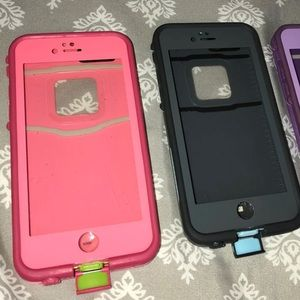 2 IPHONE 6/6s LIFEPROOF CASES